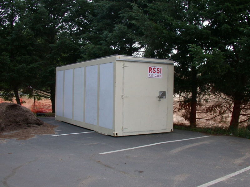 Your belongings are kept safe and secure by our strong steel framed containers.